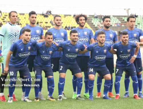 قشقایی شیراز ۱-۰ داماش گیلان / شکست چهارم فصل در شیراز رقم خورد