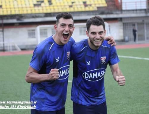 گزارش تصویری بازی داماش گیلان ۱-۰ استقلال خوزستان