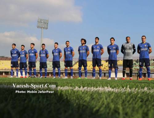 گزارش تصویری بازی داماش گیلان ۰-۰ آلومینیوم اراک