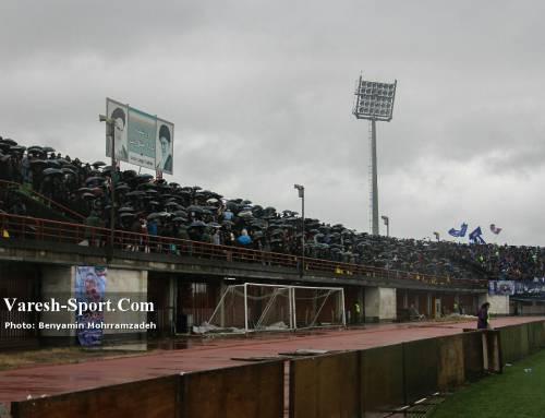 گزارش تصویری بازی داماش گیلان ۰-۰ ملوان انزلی