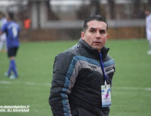 ربیعی فر: پیروزی را به هواداران وحاجی پور تقدیم می کنم/ بازیکنانم با شرف فوتبال بازی می کنند