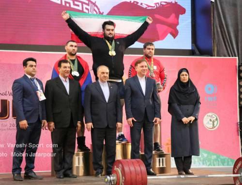 ایران قهرمان مسابقات وزنه برداری جام نامجو شد+ گزارش تصویری روز پایانی