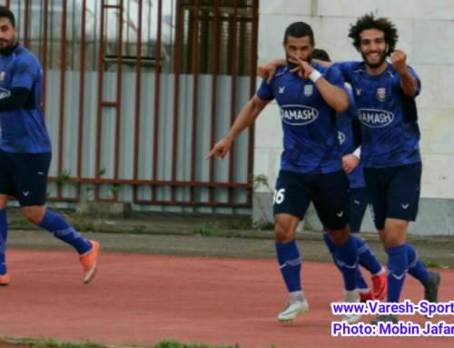 گزارش تصویری بازی داماش گیلان ۲-۱ گل ریحان البرز