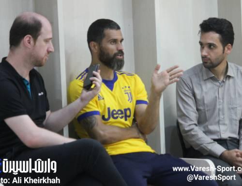 محمد غلامی: آمدم تا با پیراهن داماش از فوتبال خداحافظی کنم