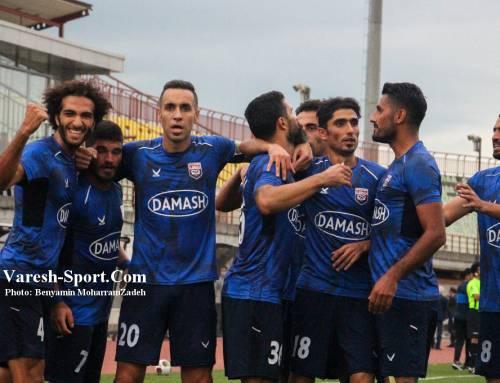 گزارش تصویری بازی داماش گیلان ۲-۱ نیروی زمینی تهران