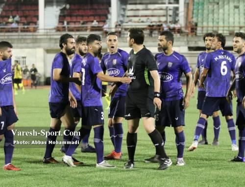 گزارش تصویری بازی داماش گیلان ۰-۱ خوشه طلایی ساوه