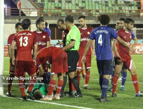 گزارش تصویری بازی سپیدرود رشت ۱-۰ داماش گیلان