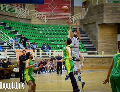 رشت فاتح دربی گیلانی ها در لیگ دسته اول بسکتبال ایران