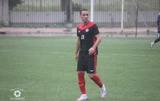 محمد مختاری در بازی دوستانه مقابل شهرداری فومن